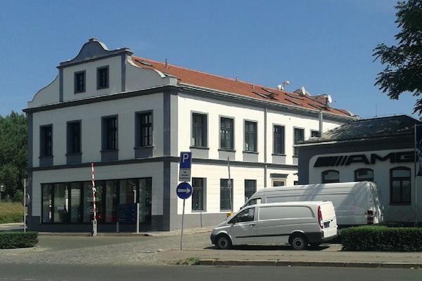 Nové sídlo televize Sport 5 v Šaldově ulici v pražském Karlíně. Foto: Sport 5