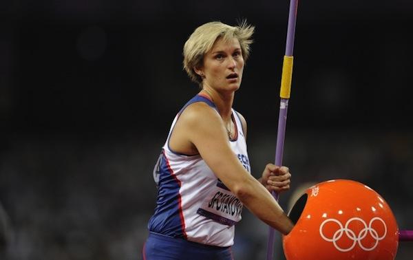 Barbora Špotáková v Londýně obhájila olympijské zlato z Pekingu. Foto: ČTK/Petrášek Radek
