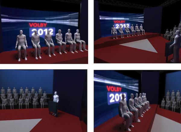Vizualizace předvolebních studií. Foto: ČT