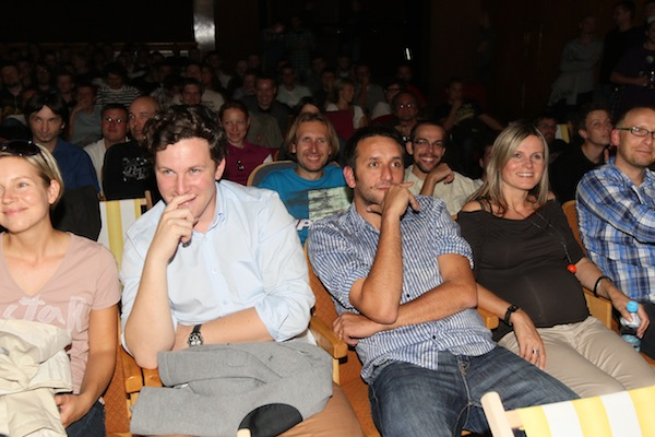 Večer humoru a aplikací. Foto: Tomáš Pánek