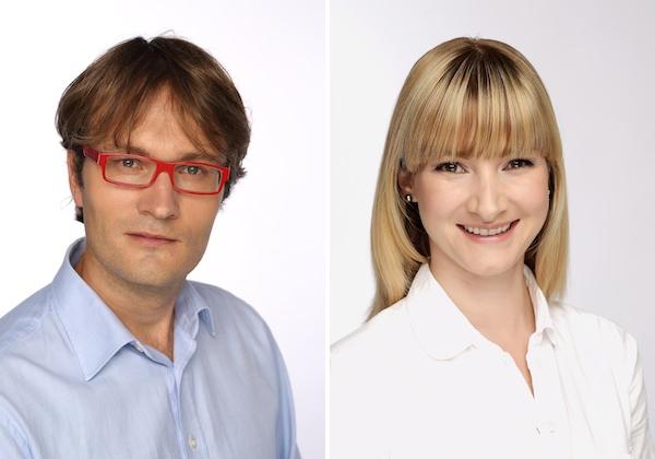 Miroslav Čepický a Alžběta Houzarová. Foto: Vodafone