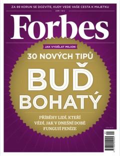 Obálka českého Forbesu ze září 2012