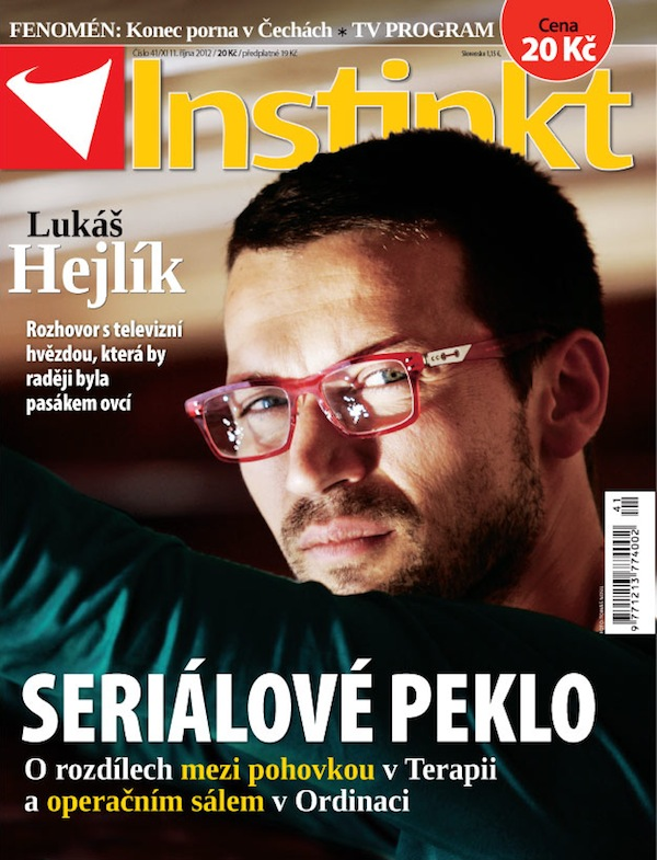 Titulní strana Instinktu číslo 41/2012