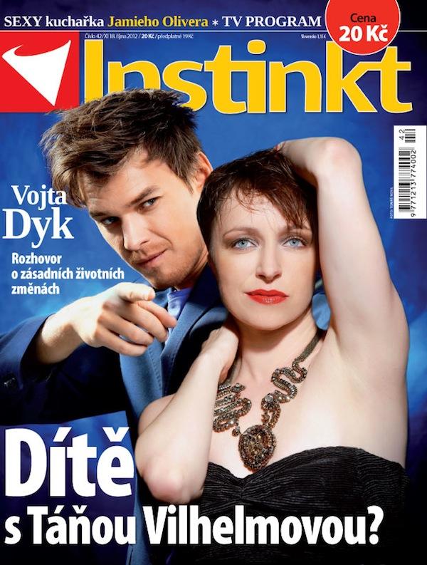 Titulní strana Instinktu číslo 42/2012