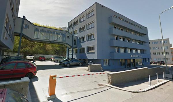 Sídlo Médey v branické Mikuleckého ulici. Repro: Mapy Google