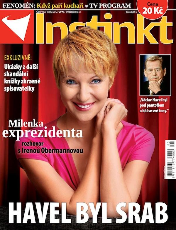 Titulní strana Instinktu číslo 40/2012