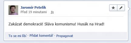 Zbývá snímek anonymně poslat do Blesku a čekat, až se chytnou všechna česká média.