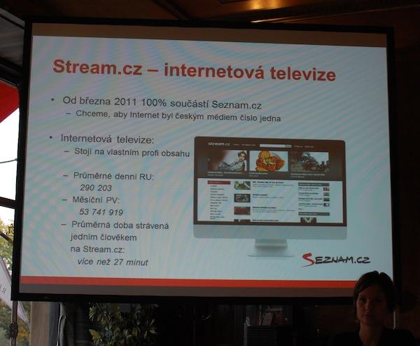 Jak si vede internetová televize Stream podle interních čísel