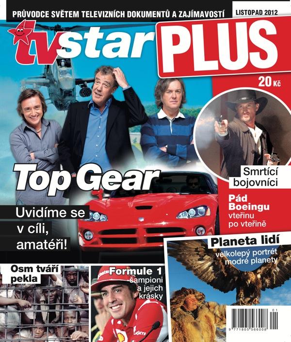 První číslo měsíčníku TV star Plus