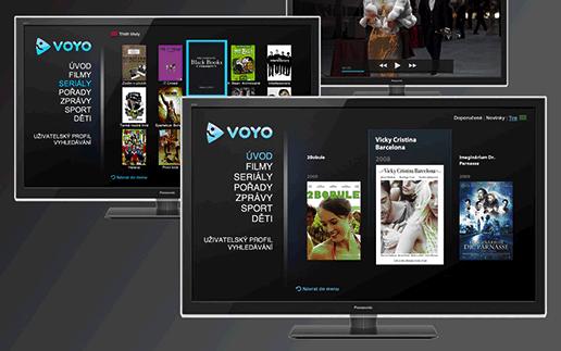 Aplikace Voyo pro televizory Panasonic