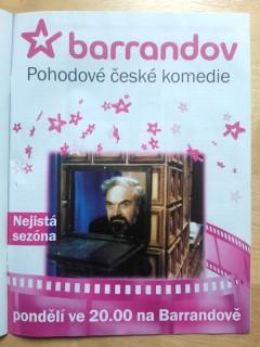 Vlastnicky spřízněný Týden začal tisknout inzerci Barrandova