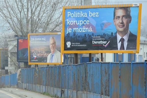 Billboard Jiřího Dienstbiera