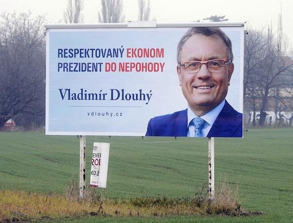 Billboard Vladimíra Dlouhého