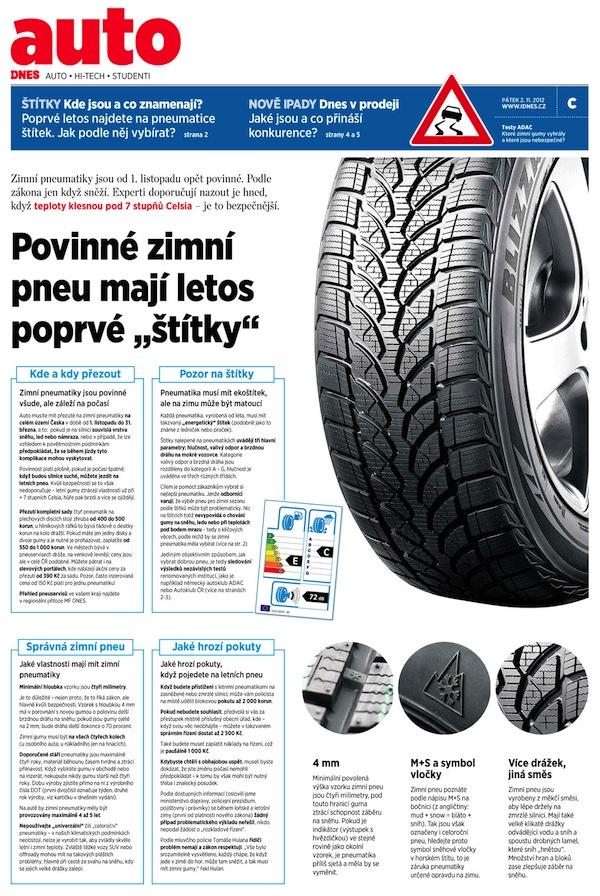 Příloha o pneumatikách