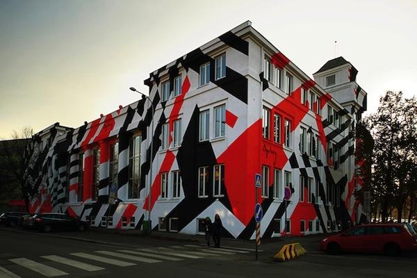 Nový nátěr fasády holešovického sídla Ogilvy