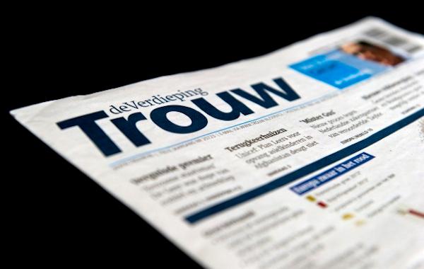 Vítězný nizozemský deník Trouw