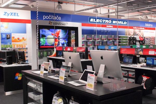Inzerenti mohou nechat své spoty vysílat přes televizory v Electro Worldu
