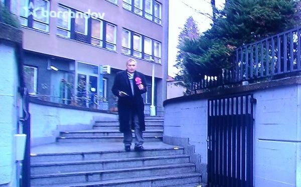 Ivan Břešťák v reportáži televize Barrandov