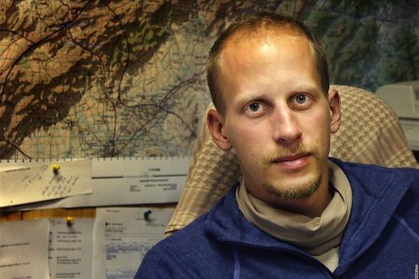 Matyáš Zrno v říjnu 2010 v Afghánistánu. Foto: stf / iDNES.cz / Profimedia