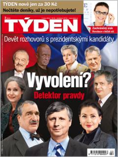 Týden za třicet korun. Repro: Týden.cz