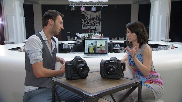 Magazín Digiport s moderátorkou Veronikou Hong. Foto: TV Nova