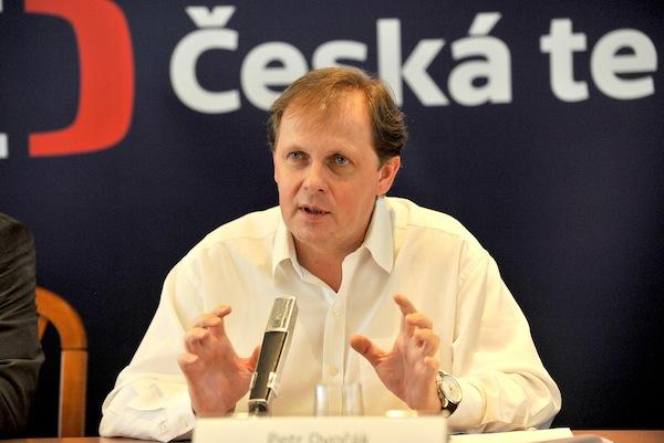 Generální ředitel ČT Petr Dvořák. Foto: ČT
