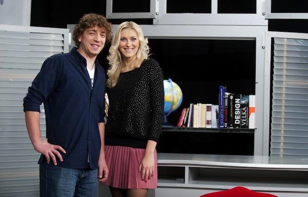 David Brabec a Zora Kepková. Foto: TV Nova