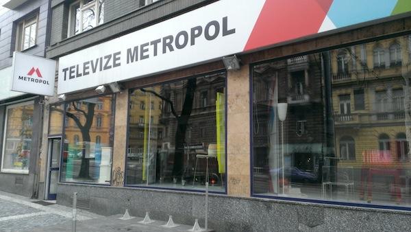Pražské studio Metropolu pro živé pořady se v pátek odmlčelo