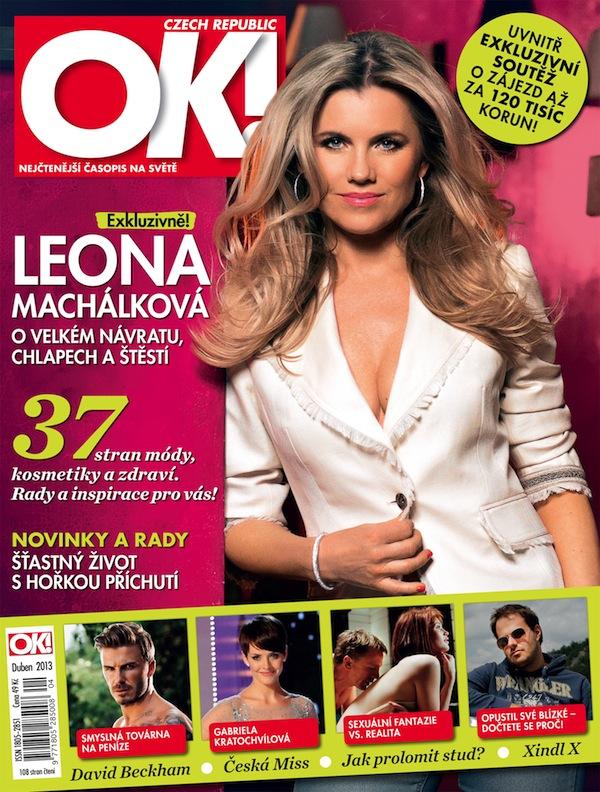 Dubnová obálka OK! Magazine. Foto: OK! Magazine