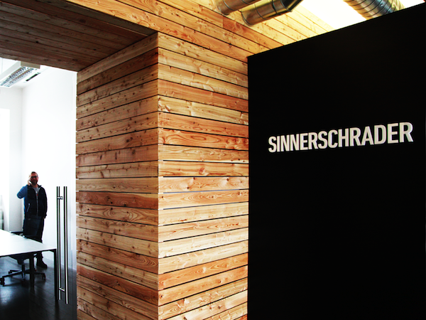 Kancelář SinnerSchradder v pražských Holešovicích