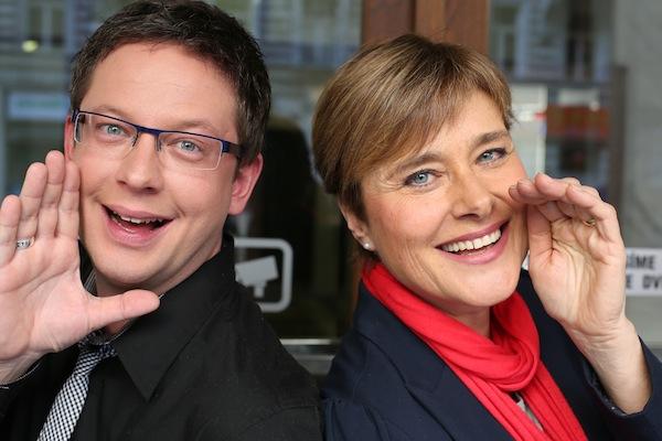 Aleš Cibulka a Marie Retková. Foto: TV Barrandov
