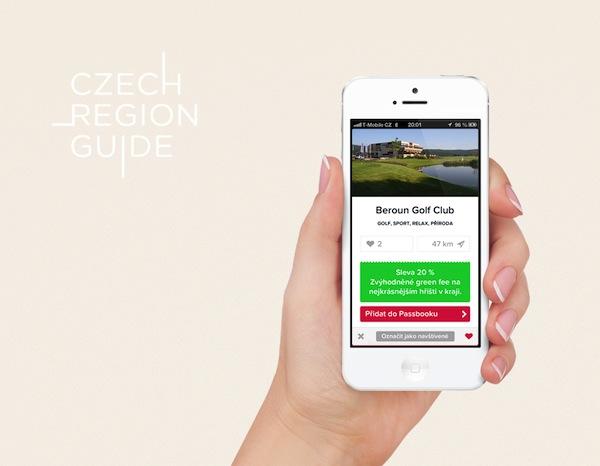 Aplikace Czech Region Guide