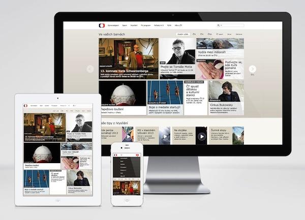 Responzivní design webu ČT