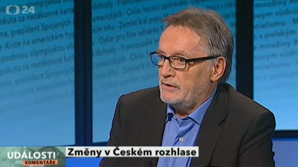 Šéfa rozhlasu Duhana si Česká televize pozvala do Událostí, komentářů