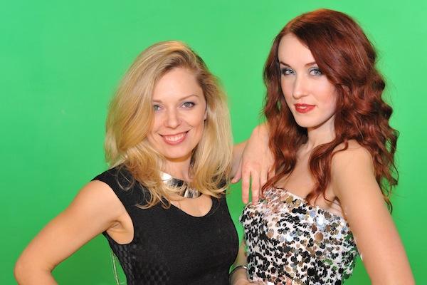 Martina Hřebíková a Lenka Vacvalová. Foto: TV Óčko
