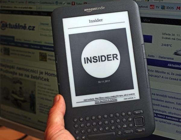 Deník Insider vychází od 1. prosince 2012, vždy v 16 hodin odpoledne. Foto: Centrum Holdings