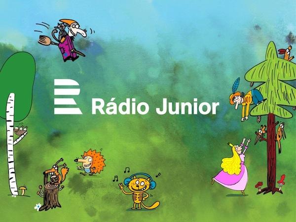 Nové logo Rádia Junior