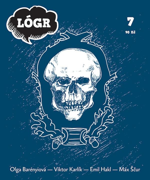 Titulní strana Lógru v nové grafické úpravě
