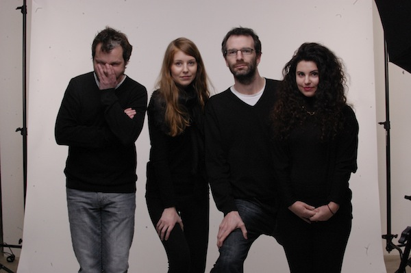 Marek Prchal, Nikola Hurychová, Ondřej Aust, Sandra Kisić. Foto: Jiří Turek