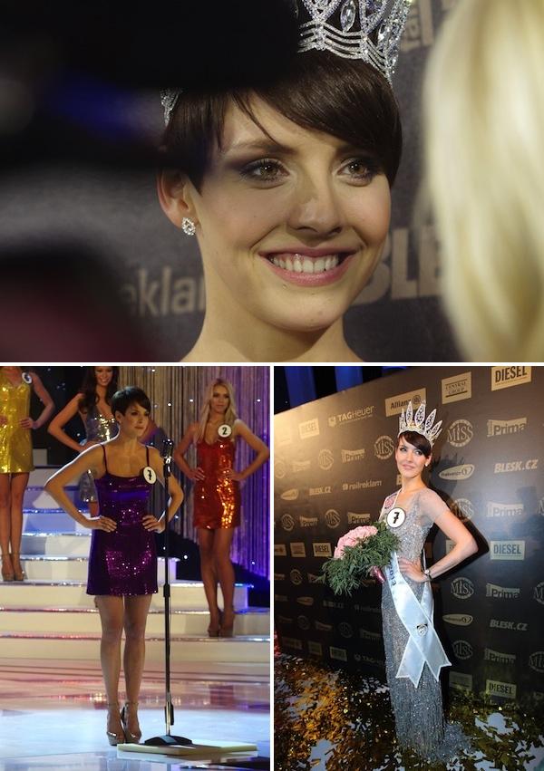 Česká Miss 2013 Gabriela Kratochvílová. Foto: Profimedia.cz