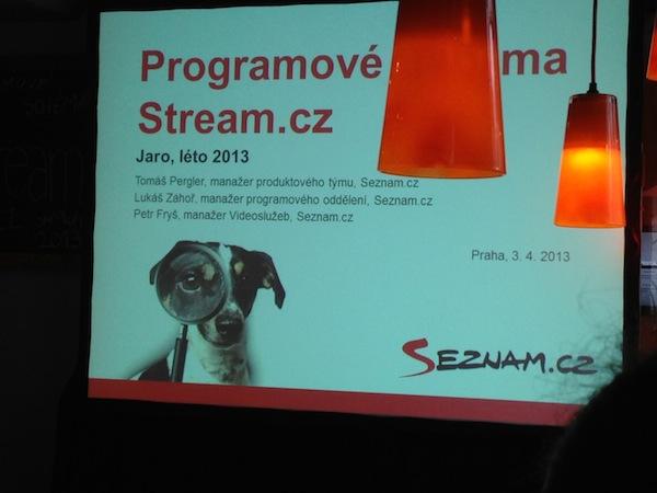 Tisková konference Streamu v restauraci Koloniál v Praze