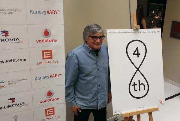 Logo 48. ročníku je opět minimalistické, opět od Najbrtů