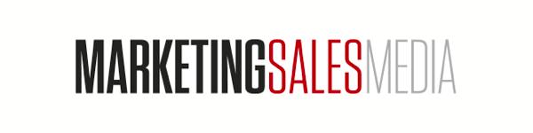 Oficiálně zveřejněné logo časopisu MarketingSalesMedia