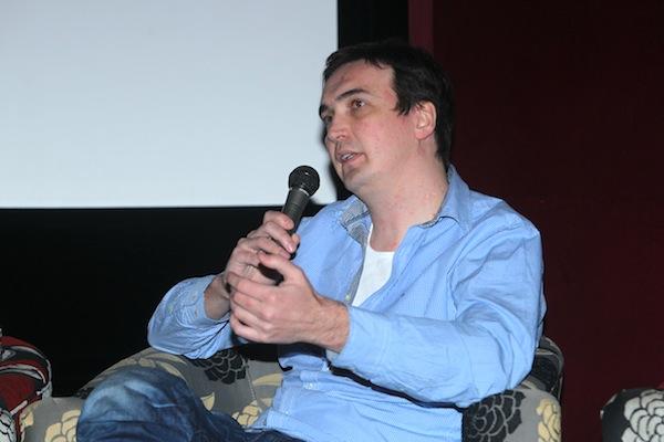 Petr Konečný, vedoucí Blesk.cz a zástupce šéfredaktora Blesku, na pondělní konferenci Médiáře. Foto: Tomáš Pánek
