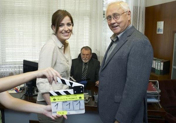 Hlavní roli policistky působící v šumavské Modravě představila Soňa Norisová. Foto: TV Nova