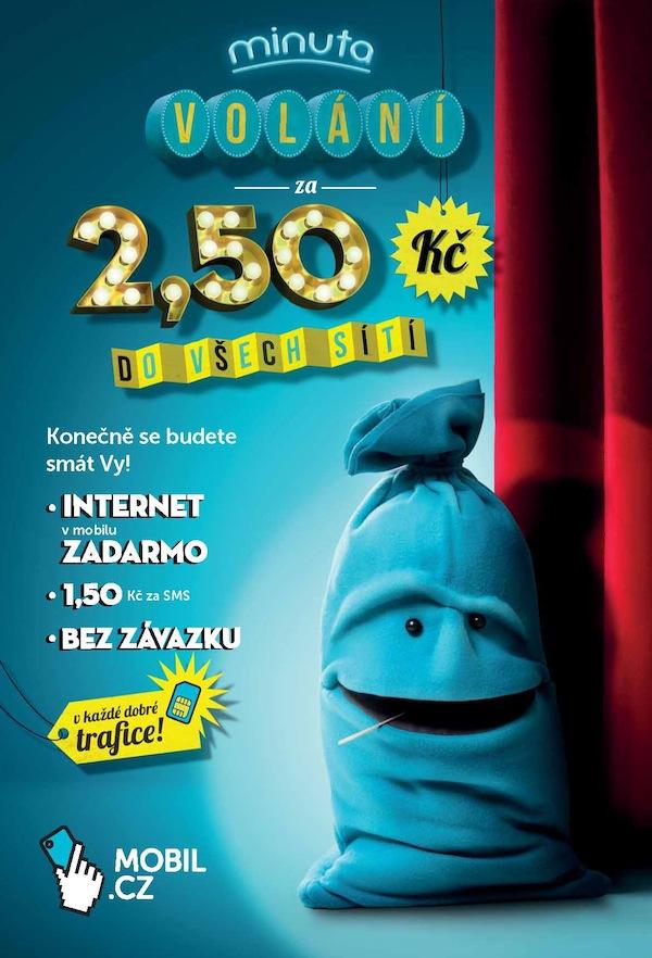 Tisková inzerce Mobil.cz: Minuta