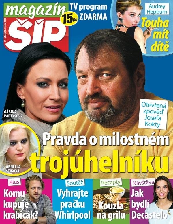 Magazín Šíp s novým logem