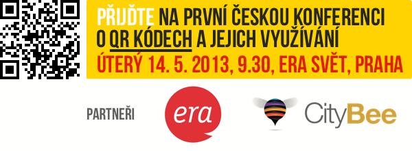 Přijďte na první českou konferenci o QR kódech