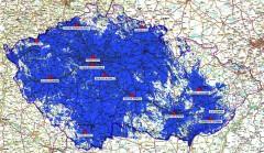 Dosah regionální sítě 7