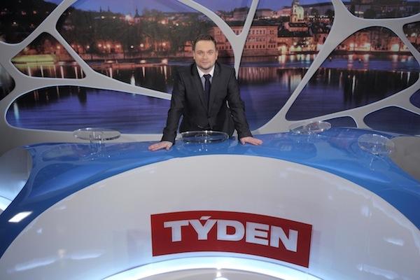 Nové studio Témat týdne má připomínat blob architekta Jana Kaplického. Foto: TV Barrandov